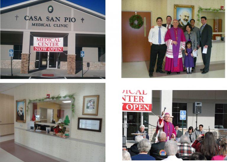 Casa San Pio Medical Clinic in Appalachian Foothills in the Diocese of Lexington, Kentucky