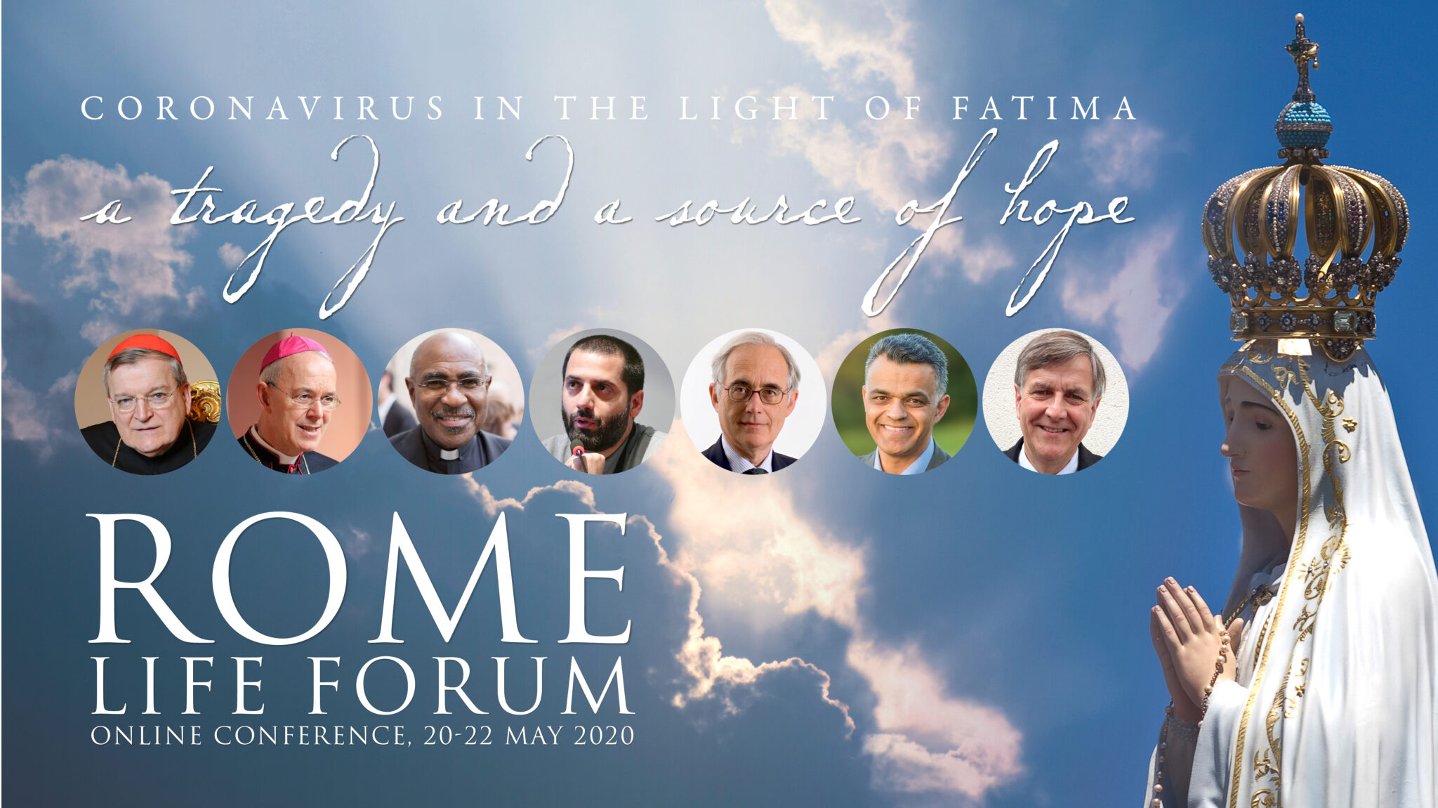 Rome Life Forum 2020: : H. E. Raymond Leo Cardinal Burke : Covid19 Crisis in The Church