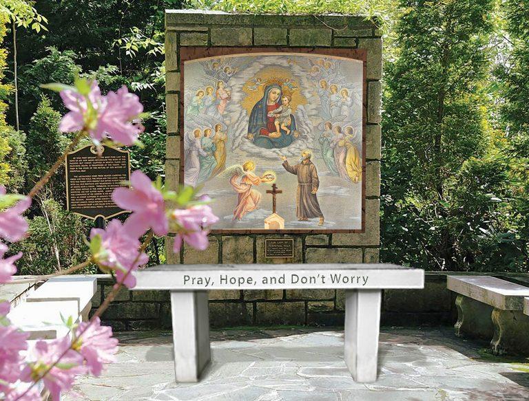 Padre Pio Grotto plan