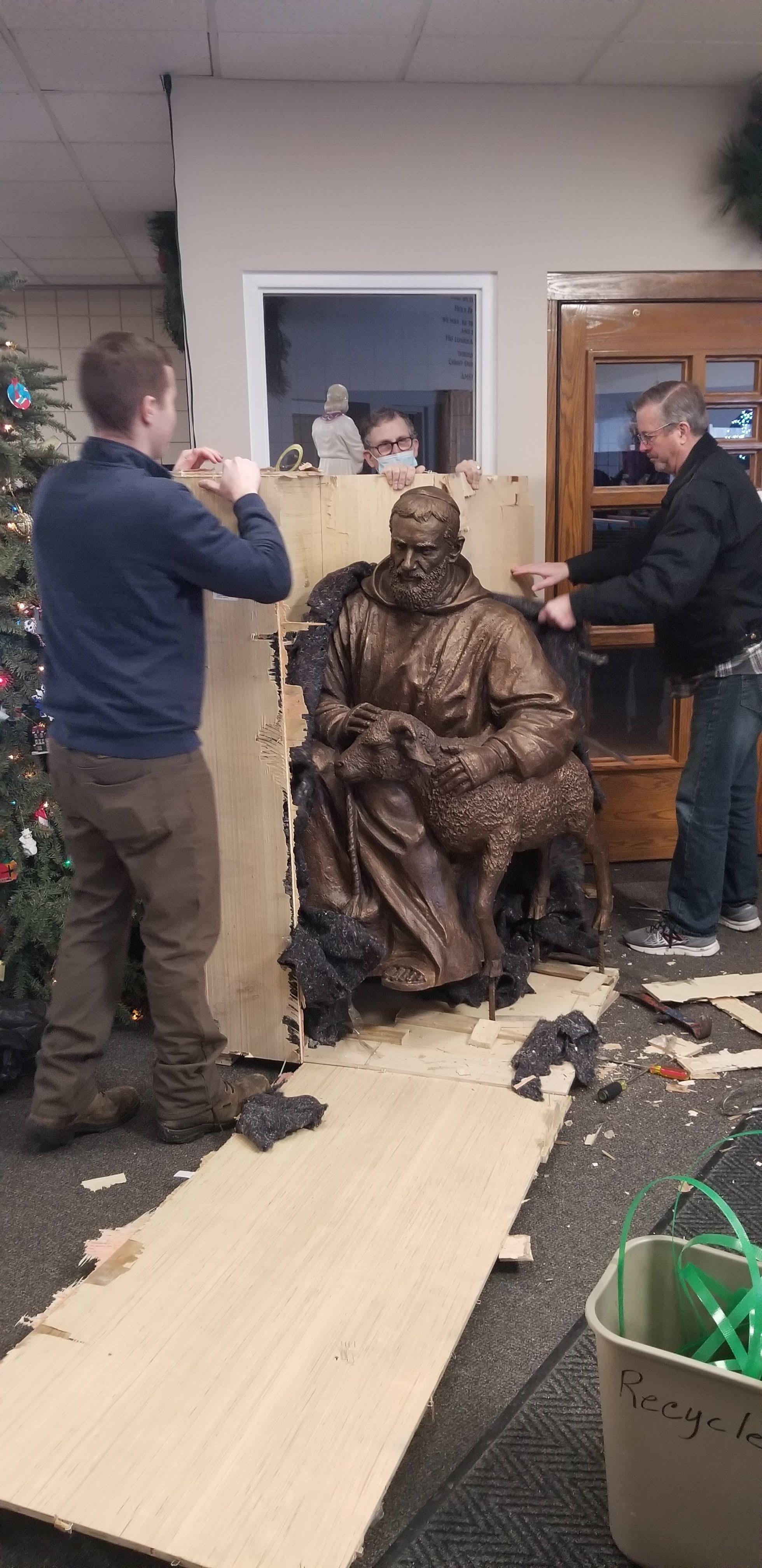 God kept St. Pio safe!